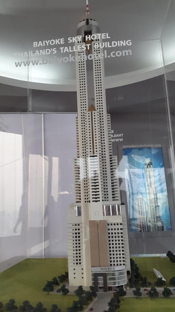 Модель небоскреба