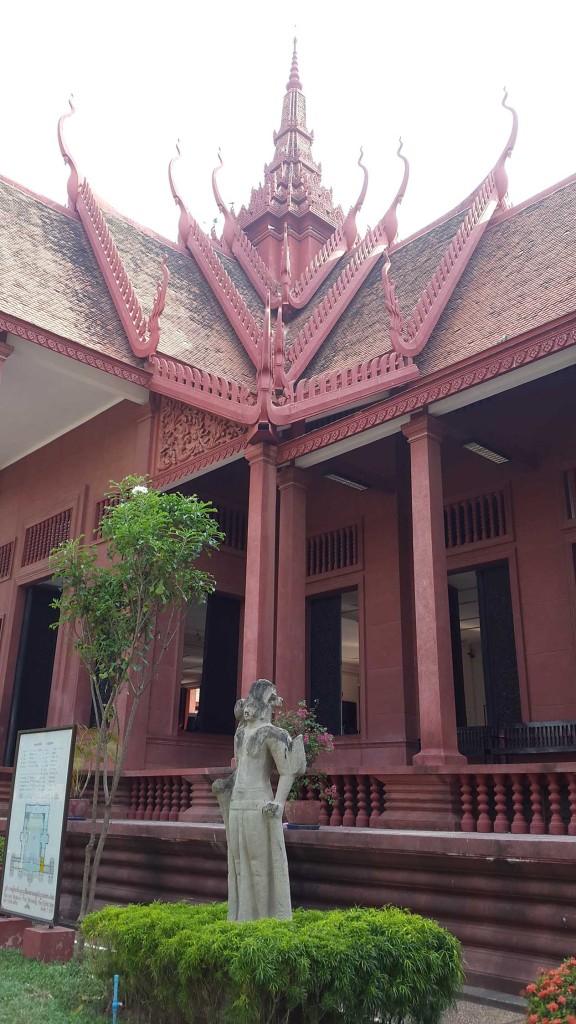 Красивое здание национального музея