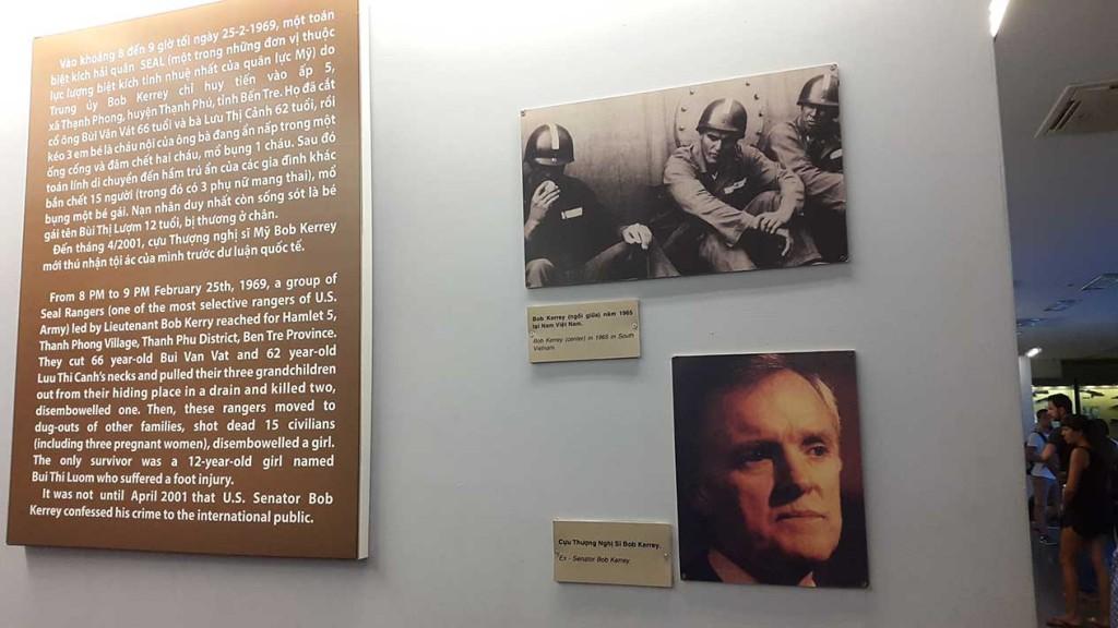 История американского конгрессмена, в годы войны во Вьетнаме убившего десятки мирных жителей, в том числе детей и беременных женщин. Только в 2001 году он рассказал о своем преступлении.