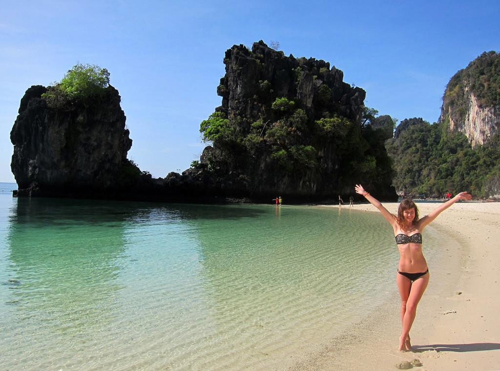 Заповедный пляж на острове Ho Kong