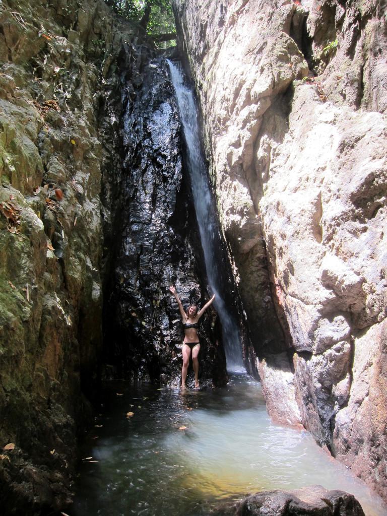Водопад Bang Pae. Здесь просто отлично искупаться, вода освежает.