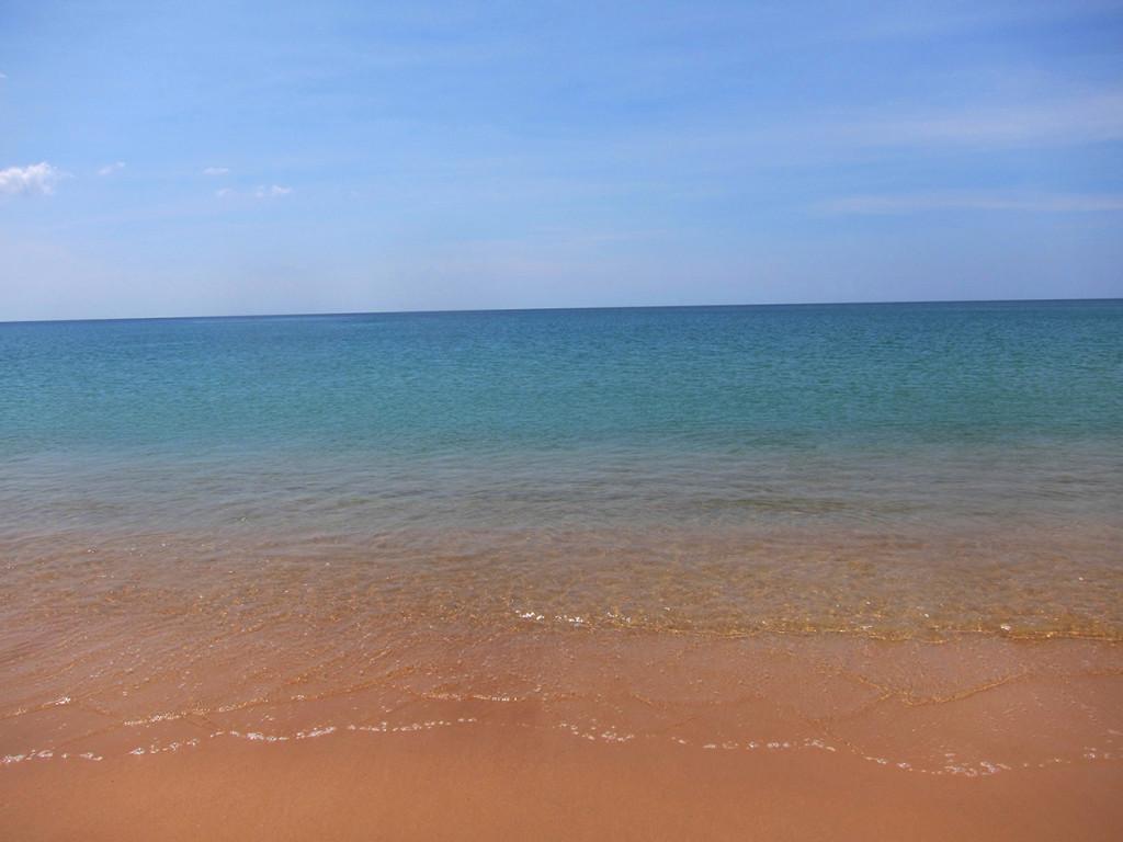 Бескрайнее море..очень красиво.