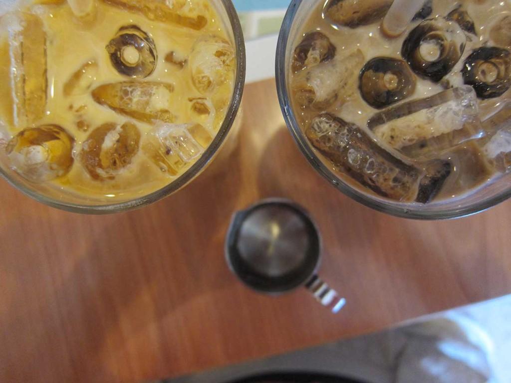 Очень вкусные тайские чай и кофе. Особенно мне понравился чай!