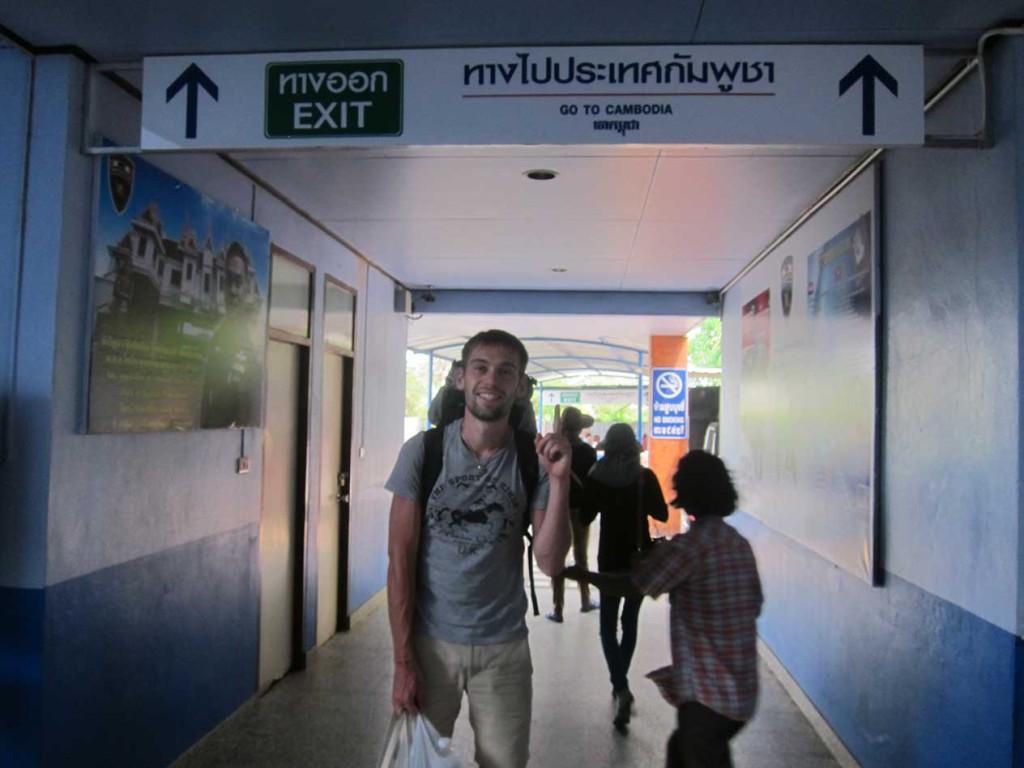 С тайской стороны все прошло гладко и вот мы уже почти в Камбодже