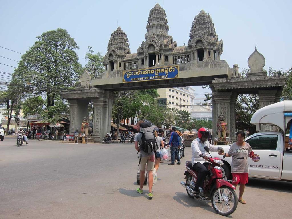 Прямо на границе кстати со стороны Камбоджи было казино.