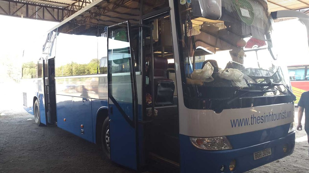 Наш sleeping bus снаружи.