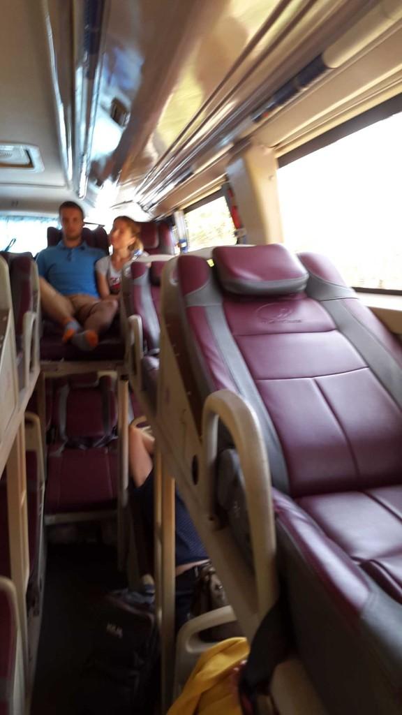 После Муйне автобус был полупустой.