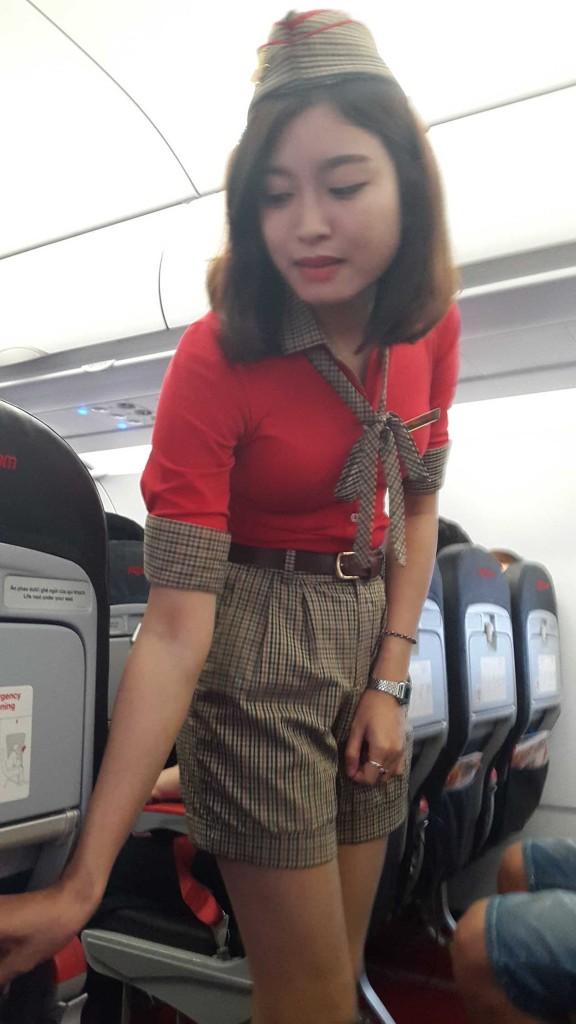 Симпатичная форма стюардесс