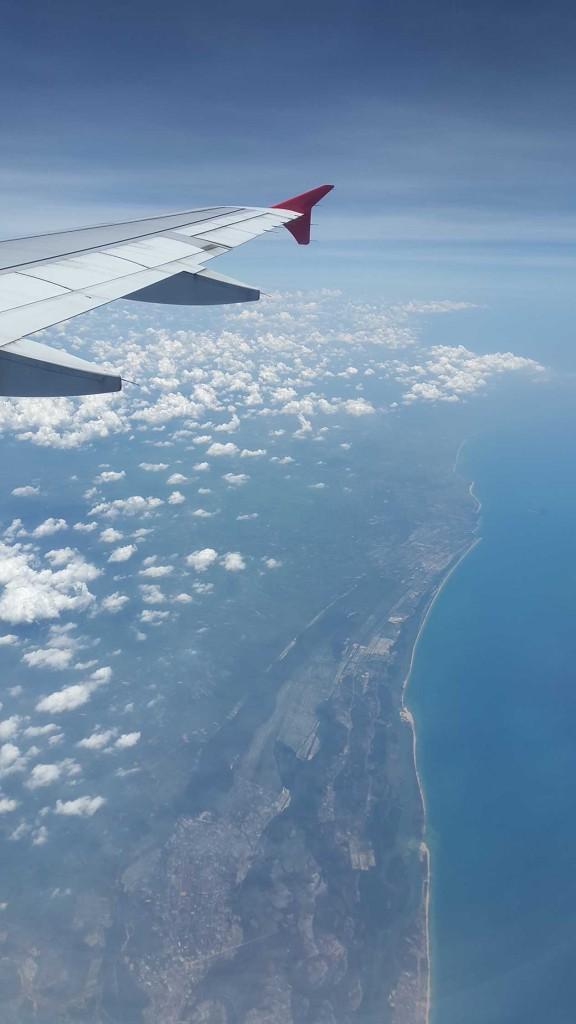 А вот начинается Малайзия. Всего лишь 3 часа полета от Ханоя.