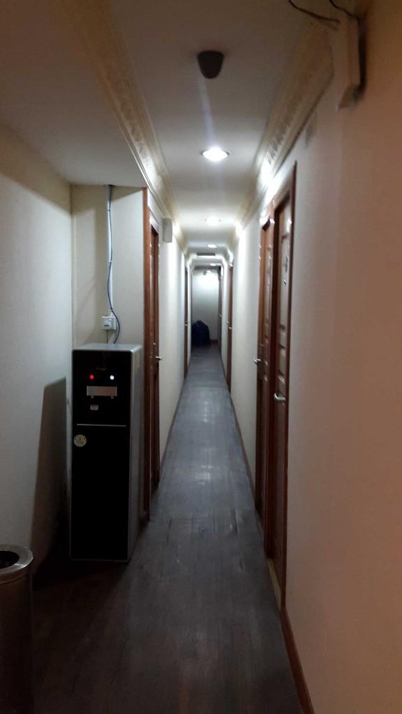 Коридор в отеле.