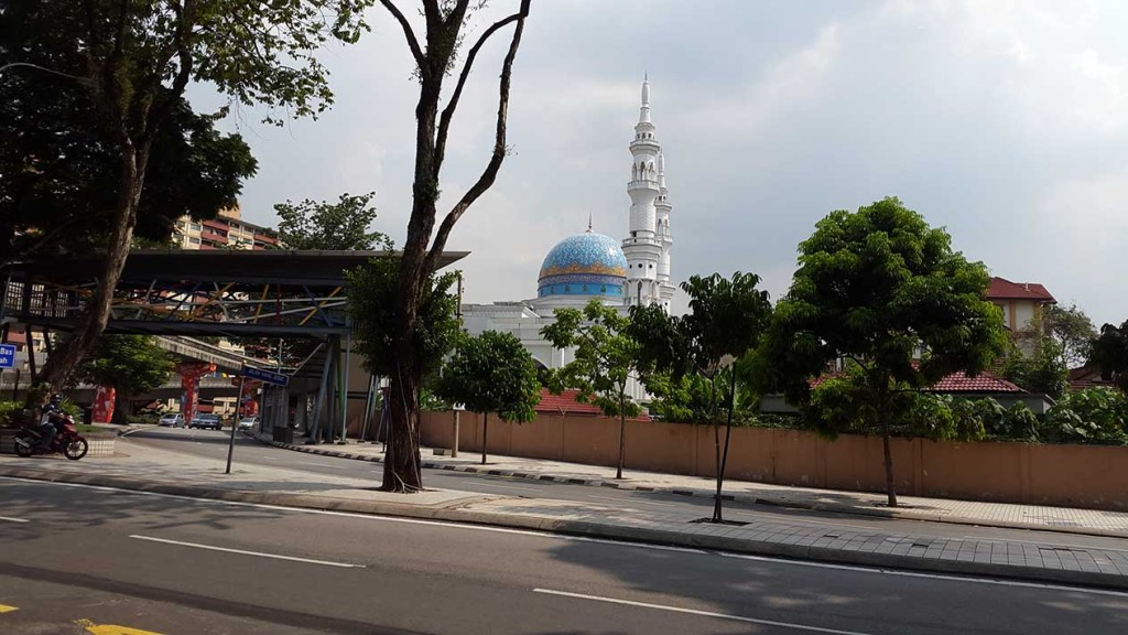 И в тоже время мечети.