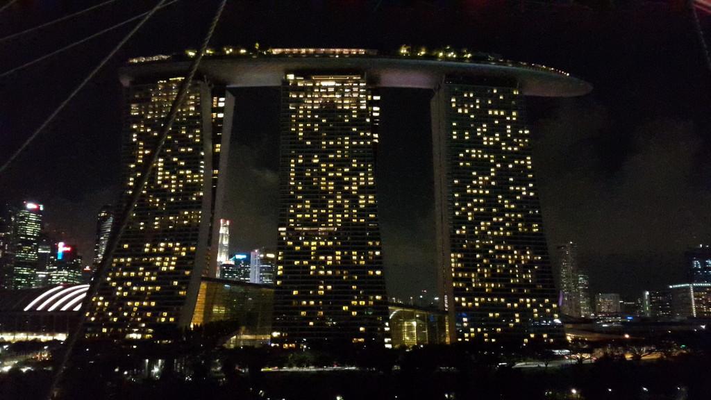 Ну и напоследок Marina Bay Sands.