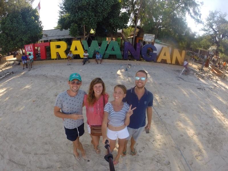 Ну здравствуй, Траванган. Фото из порта острова.