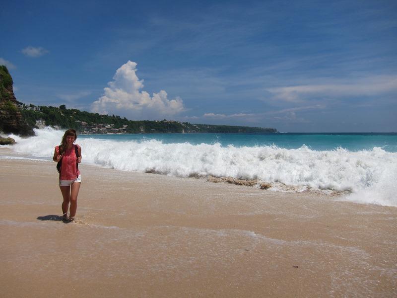 Ну а вот и пляж. Тоже очень красивый!