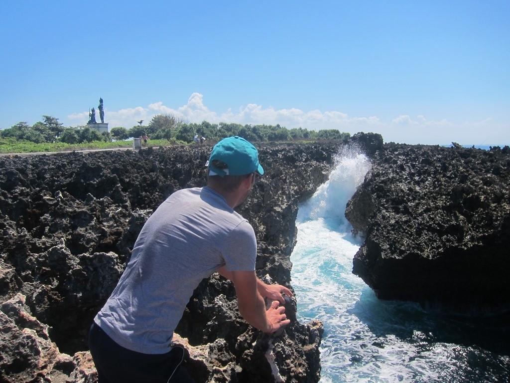 Вот он! Настоящая мясорубка в воде! Невероятные потоки мчатся туда-сюда.