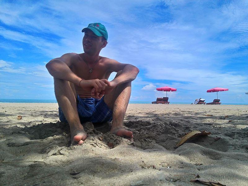 И сам пляж