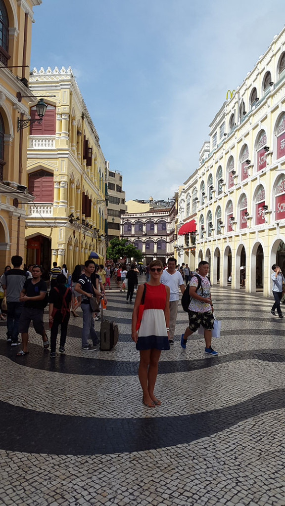 И конечно же главная площадь Сенадо.