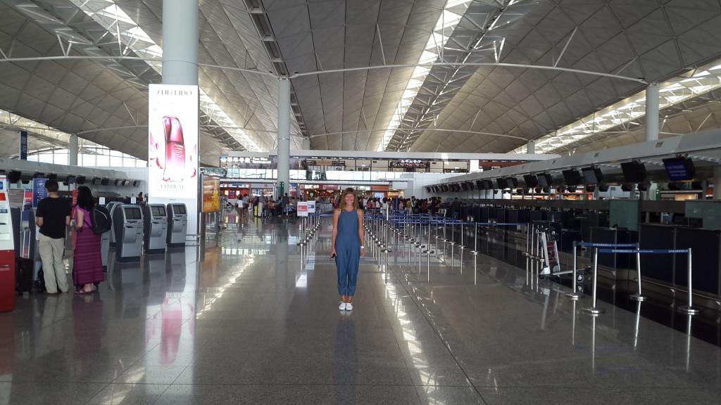 Аэропорт Гонконга. Один из самых загруженных в мире.
