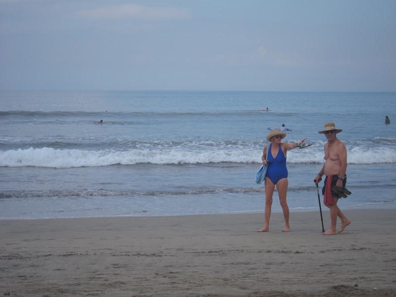 Пляж объединяет всех.