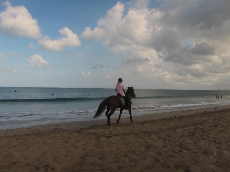 На пляже происходит буквально все!