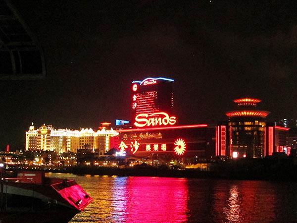 На очереди казино Sands! Именно оно понравилось больше всего, и именно здесь я поймал удачу за хвост).