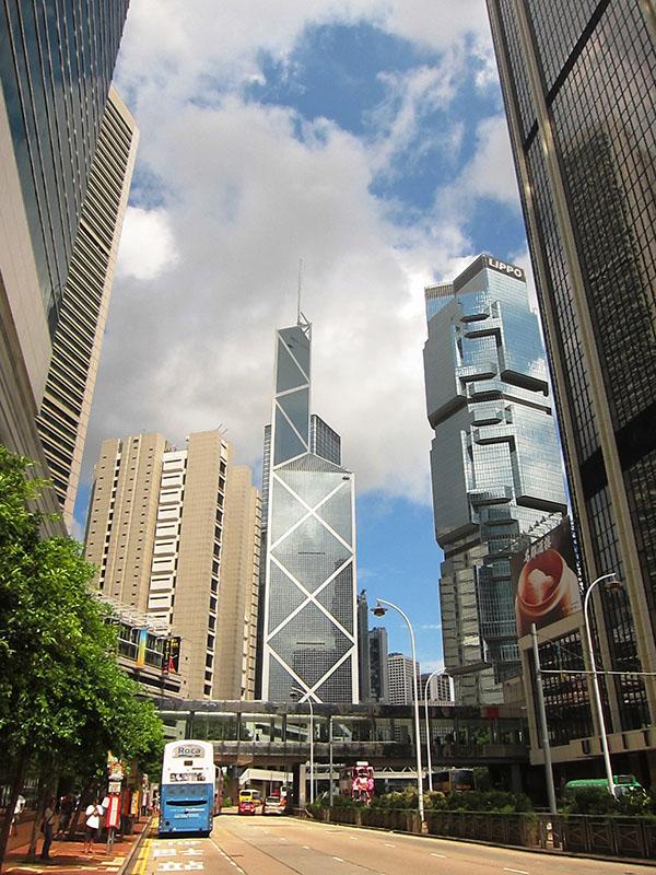 А вот банк Китая.