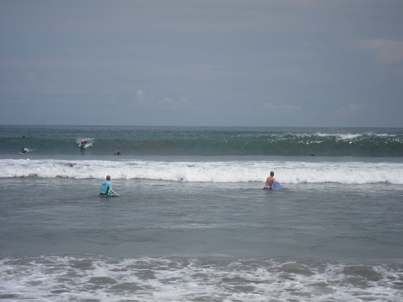 То на больших волнах иногда было страшновато