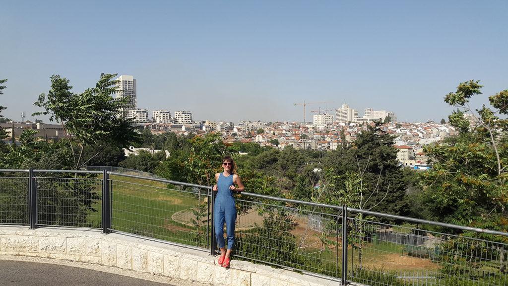 Любовались панорамами Иерусалима