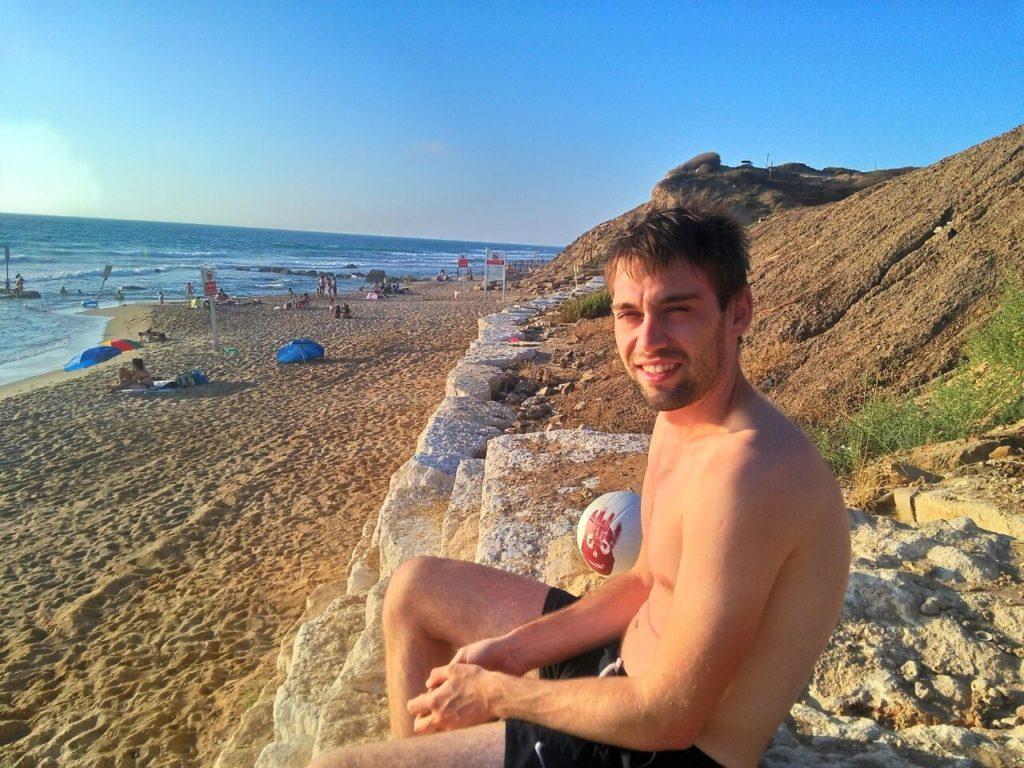 Я и Wilson на диком пляже
